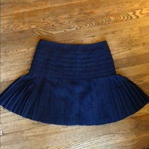 J. Crew pleated skirt